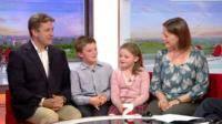 Chris MacGregor and family