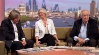 David Mellor, Sarah Baxter and Sir Tim Rice review the Sunday papers