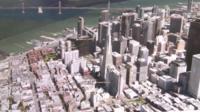 3D map of San Fransisco