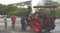 The hooter was sounded from a steam engine