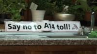 Say no to A14 toll poster
