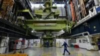 Inside Hinkley Point B Nuclear station