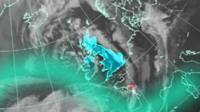 Met Office satellite image