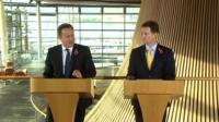 David Cameron and Nick Clegg