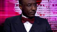 Governor of the Central Bank of Nigeria, Lamido Sanusi