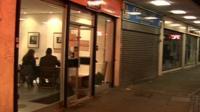 Pop-up restaurant in Lewisham's empty shops
