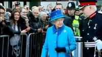 Queen visits Manchester