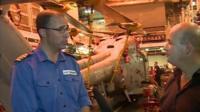 Commander Angus Essenhigh, Captain HMS Daring