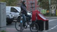 Berlin cyclist