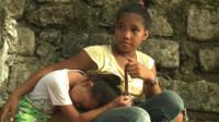 Survivors of Typhoon Haiyan