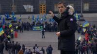 Daniel Sandford in Kiev