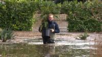 Sandwich garden flooding