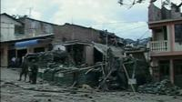 Police station in Colombia destroyed by bomb