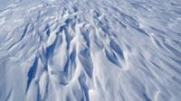 Sastrugi in Antarctica