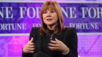 Mary Barra, new chief executive of General Motors