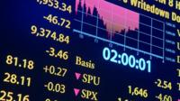 screen showing market reaction