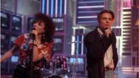 Lorraine McIntosh and Ricky Ross from Deacon Blue