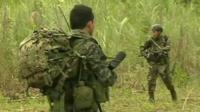 Elite Peruvian forces at work