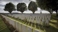 Arras Road British Cemetery. Roclincourt, near Vimy in France