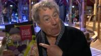Terry Jones in Cardiff for performance of Silly Kings