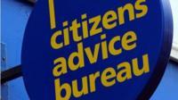 Citizens Advice Bureau sign
