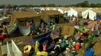 Juba's UN camp for civilians displaced in South Sudan