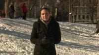 Nada Tawfik in Central Park