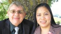 Ron Sheppard and wife Wang