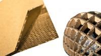 Honeycomb board and paper helmet