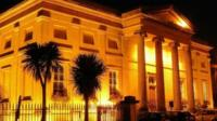 Swansea museum beautifully illuminated at night (Mike Davies).