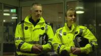 Assistant Chief Constable Malcolm Graham and Superintendent Liz McAinsh