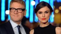 Kenneth Branagh and Keira Knightley