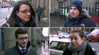 People in Edinburgh