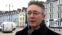 Professor John Grattan, Pro Vice-Chancellor of Aberystwyth University