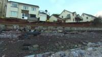 Homes in Dawlish close to the railway line