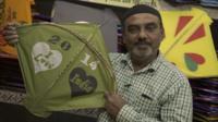 Kite-maker, Rajuhbai