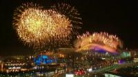 22nd Winter Olympics opening ceremony fireworks