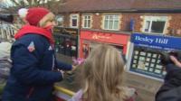 Jenny Jones on her open-top bus tour