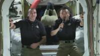 NASA and JAXA astronauts