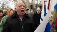Protest in Crimea