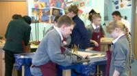 Academy pupils