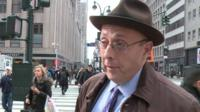Man in New York street