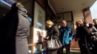 A queue