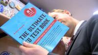 Adam Fleming with EU book
