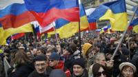 Anti-government rally in Moscow