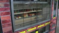 Vending machine invented by Peter Fox