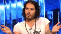 Russell Brand appears on Match of the Day for Sport Relief