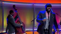 Gregory Porter on The Andrew Marr Show