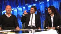Alan Shearer, Leonardo and Russell Brand debate Wayne Rooney's goal on Match of the Day