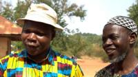 Archbishop Dieudonne Nzapalainga and Imam Oumar Kobine Layama in CAR (April 2014)